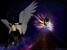 Angel Portal Gabriel, Energy-infused ART portal - PsychicSisters.net